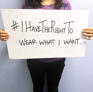 #ihavetherightto wear what I want