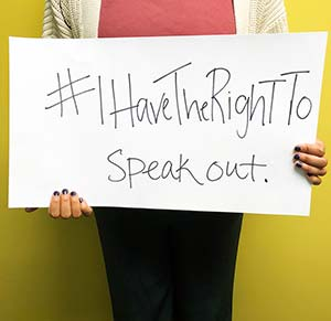 #ihavetherightto speak out